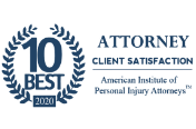 Award badge for Atlanta Personal Injury Lawyer